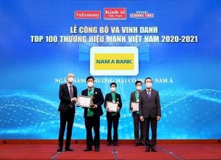 """Nam A Bank """"Thương hiệu mạnh Việt Nam 6 lần liên tiếp"""""""