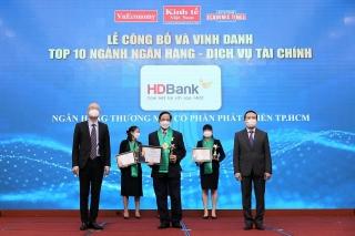 HDBank được đánh giá cao trong đổi mới sáng tạo và chuyển đổi số