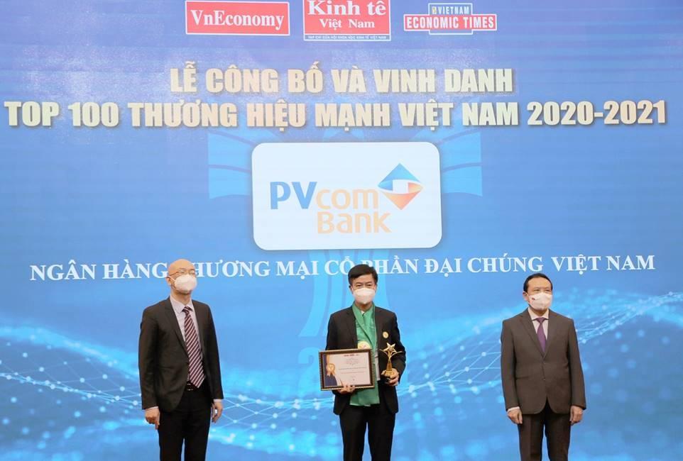 pvcombank nam trong top 100 thuong hieu manh viet nam nam 2020 2021