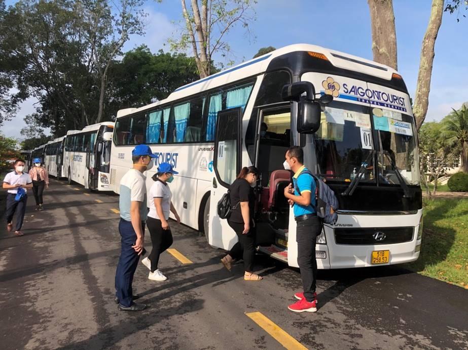 lu hanh saigontourist mo tour lien tuyen dau tien cu chi tay ninh