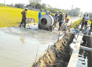 Không được huy động vốn đóng góp của hộ nghèo để xây dựng nông thôn mới