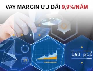 Techcom Securities cho vay ký quỹ lãi suất ưu đãi 9,9%/năm