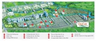 Đất nền Gia Cát chào bán 15 triệu đồng/m2