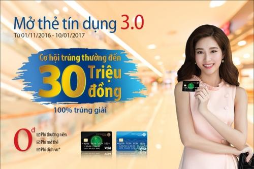 Nhận ngay 5.000 dặm bay khi mở thẻ tín dụng Viet Capital Visa