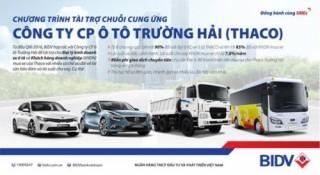 BIDV tài trợ chuỗi cung ứng của Công ty ôtô Trường Hải