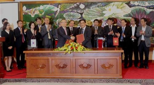 Vay vốn Hàn Quốc để nâng cấp hệ thống thủy lợi sông Lèn và sông Hoàng Mai