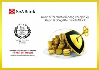 SeABank đạt giải Quản lý dòng tiền năm 2016
