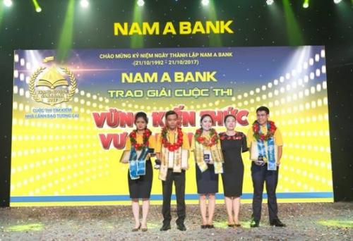 Nam A Bank đã tìm ra tân Trạng Nguyên 2017