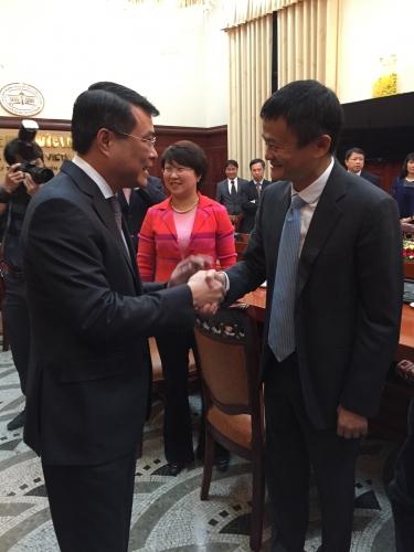 Tập đoàn Alibaba mong muốn hỗ trợ Việt Nam đẩy mạnh phát triển TMĐT