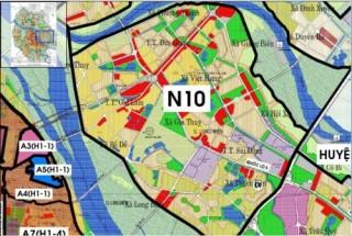 Đầu tư xây dựng khu nhà ở thấp tầng tại phân khu đô thị N10 (Ngọc Lâm, Long Biên)