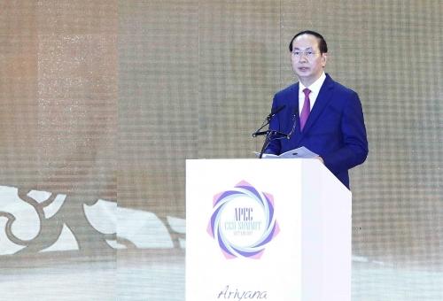 Khai mạc Hội nghị Thượng đỉnh doanh nghiệp APEC 2017