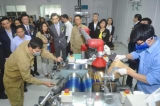 Khánh thành xưởng sản xuất mực in tiền đầu tiên tại Việt Nam