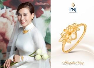 PNJ tiếp tục giới thiệu BST trang sức cưới hạnh phúc vàng