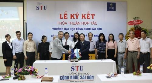 PNJ hợp tác với Đại học Công nghệ Sài Gòn