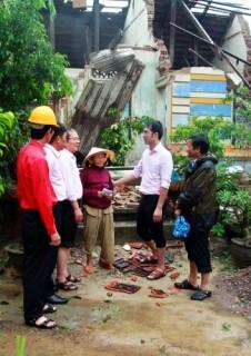 Bình Định: Các TCTD trên địa bàn tỉnh tham gia hỗ trợ đồng bào vùng bão lũ