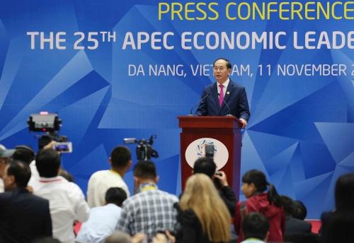 Hội nghị cấp cao APEC kết thúc tốt đẹp