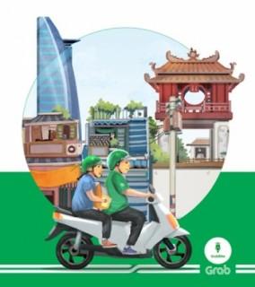 GrabBike triển khai dự án 'Việt Nam sau tay lái'