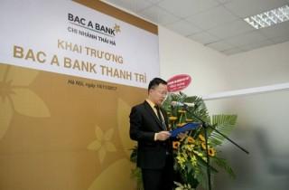 BAC A BANK khai trương thêm 2 điểm giao dịch mới