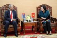 Tăng cường hợp tác giữa ngân hàng hai nước Việt Nam - Cuba