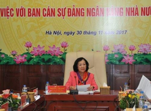 Đảng bộ NHNN: Thực hiện tốt nguyên tắc tập trung dân chủ