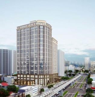 Tổ hợp căn hộ đầu tiên tại Việt Nam có trạm sạc xe điện
