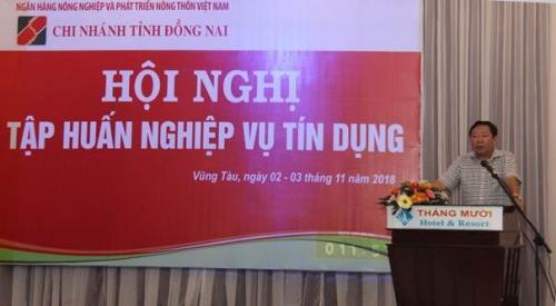 Agribank Đồng Nai: Tập huấn Nghiệp vụ cấp tín dụng và văn hóa doanh nghiệp