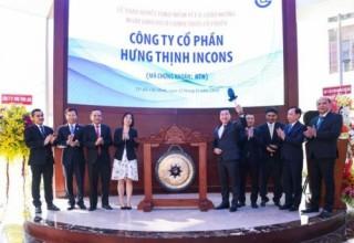 Cổ phiếu HTN của Hưng Thịnh Incons chào sàn HoSE