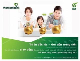 Vietcombank tri ân khách hàng bằng nhiều ưu đãi hấp dẫn