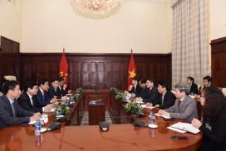 Tập đoàn Tài chính Hana mong muốn đóng góp cho sự phát triển của ngân hàng Việt Nam