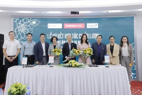 Gamuda Land Việt Nam - Cenland - VietinBank Tràng An: Ký kết hợp tác chiến lược