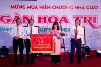 Đại học Đông Á đón nhận Cờ thi đua của Bộ Giáo dục và đào tạo