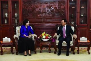 Việt Nam - Lào: Đẩy mạnh hợp tác toàn diện giữa NHTW hai nước