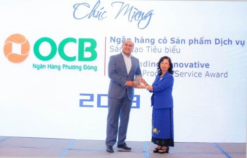 OCB đạt giải Ngân hàng tiêu biểu Việt Nam 2018