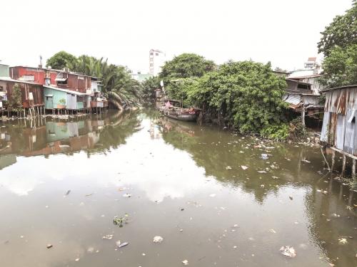 """TP.HCM: """"Giải cứu"""" kênh rạch ô nhiễm"""