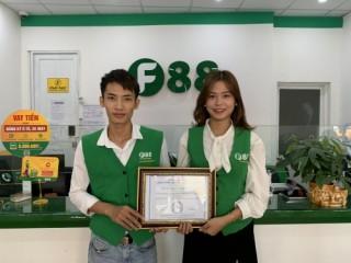 """F88 nhận chứng chỉ """"Bảo vệ khách hàng"""" đầu tiên ở Việt Nam"""