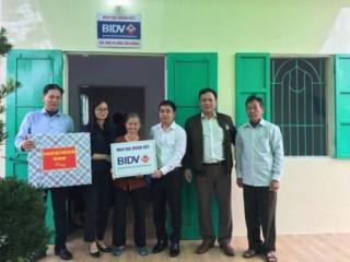 BIDV tặng nhà ở cho người nghèo