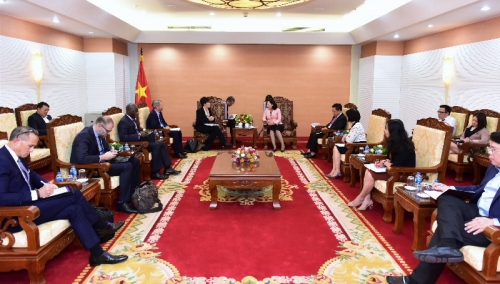 IFC luôn sẵn sàng hỗ trợ Việt Nam hoàn thiện Chiến lược quốc gia về tài chính toàn diện