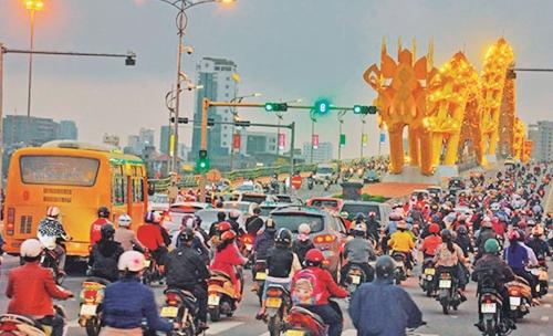 Hạ tầng giao thông Đà Nẵng đang phát sinh bất cập