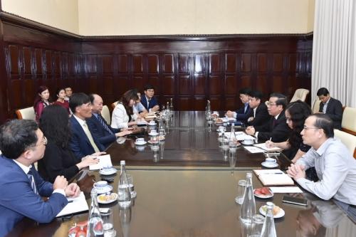 Phó Thống đốc Nguyễn Kim Anh làm việc với BC Card Hàn Quốc