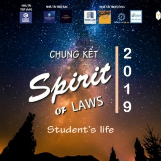 Chung kết cuộc thi 'SPIRIT OF LAWS 2019' sắp diễn ra