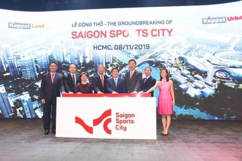 Keppel động thổ dự án khu đô thị Saigon Sports City