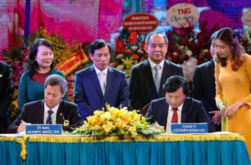 Động Lực ký hợp đồng tài trợ cho thể thao Việt Nam