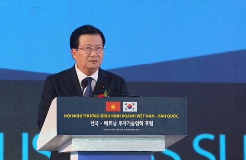 Tăng cường hợp tác kinh tế Việt Nam - Hàn Quốc