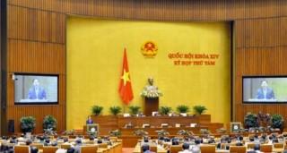 Quốc hội nghe thẩm tra dự án Luật sửa đổi, bổ sung Luật Xây dựng