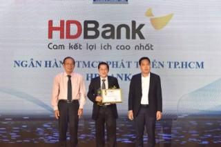 HDBank tiếp tục đượ vinh danh giải Ngân hàng tài trợ tín dụng xanh tốt nhất