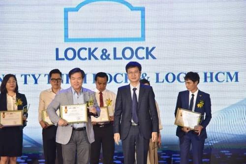 Lock & Lock lọt Top 10 thương hiệu được tin dùng nhất Việt Nam năm 2019