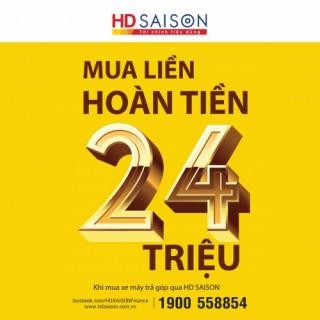 Bất ngờ với ưu đãi hoàn tiền của HD SAISON