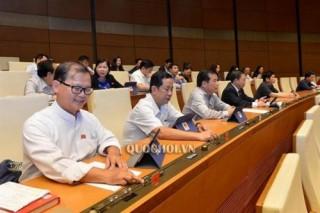 Quốc hội biểu quyết thông qua 3 Luật