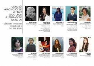 Công bố những người trẻ Việt Nam được chọn là lãnh đạo trẻ tương lai của Obama Foundation, khu vực Châu Á Thái Bình Dương