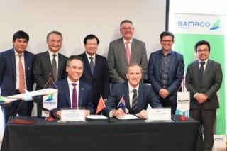 Bamboo Airways hợp tác cùng sân bay Melbourne xúc tiến đường bay thẳng Việt Nam – Úc